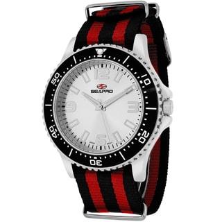 Seapro Men's SP5310NR Tideway Round Two-tone Nylon Strap Watch
