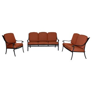 Malibu Collection Deep Seat 3-piece Set with Cushions