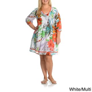 5fc05731181 Buy Size 3X Cotton Women s Plus-Size Dresses Online at Overstock ...