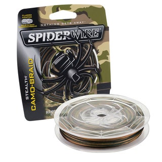 Spiderwire Stealth Braid, Camo 6 lb, 300 Yards