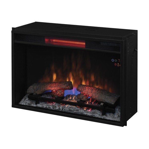 Classicflame 26ii310gra 26 Inch Infrared Quartz Fireplace Insert With Safer Plug Free Shipping