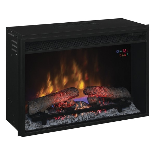 Plug In Electric Fireplace Inserts: Shop ClassicFlame 26EF031GRP 26-inch Electric Fireplace