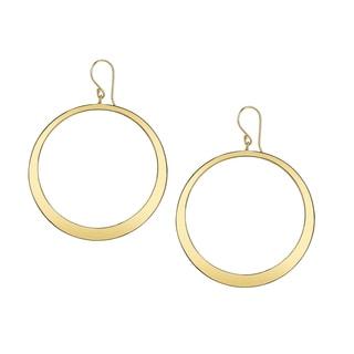 SERAFINA Round Hoop Earrings
