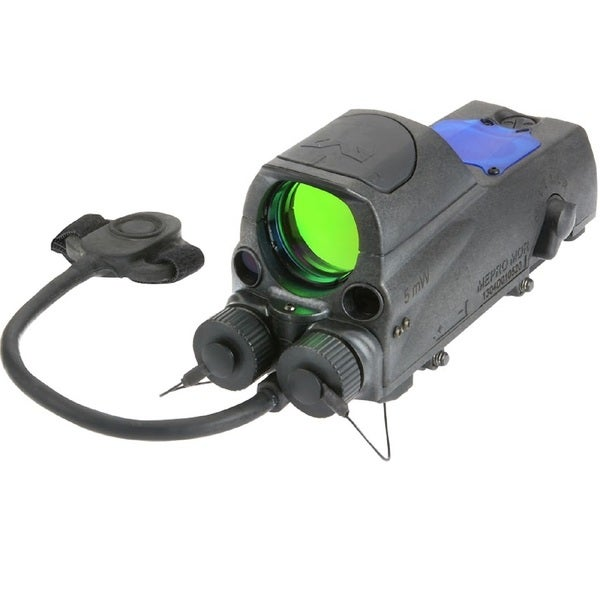 Meprolight MOR B Tri-Powered Reflex Sight Bullseye Reticle