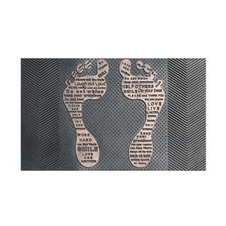 "Rubber Pin ' Funny Feet' Doormat(18"" X 30"")"