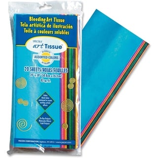Pacon Spectra Art Tissue Paper Assortment - 20/PK