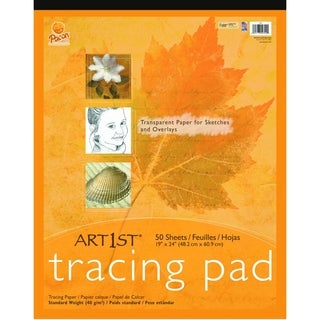 """Pacon Art1st Art1st Tracing Pad, 19"""" x 24"""", 50 Sheets - 1/PD"""