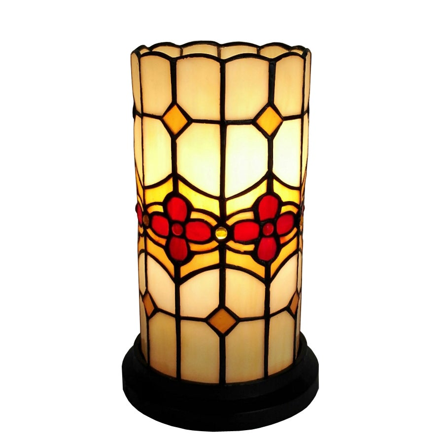 Amora Lighting Tiffany Style Floral Design Table Lamp (Ca...
