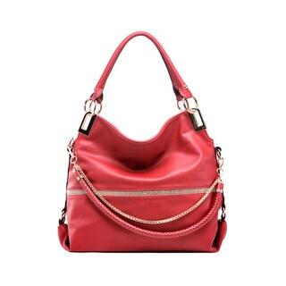 MKF Collection Twister Handbag by Mia K. Farrow