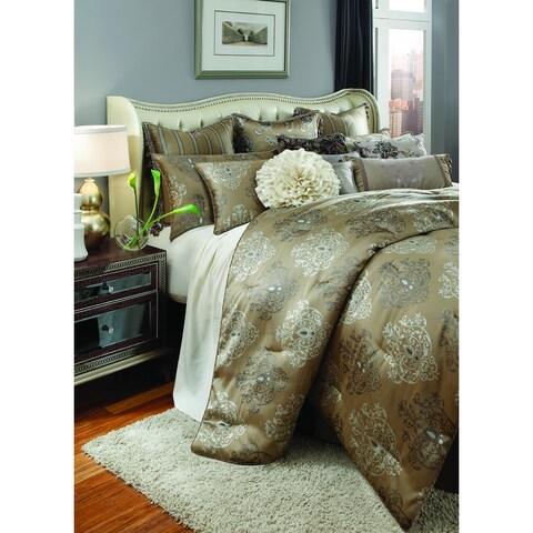 Michael Amini Solitaire 13-piece Comforter Set