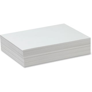 Pacon Bright White Sulphite Drawing Paper - 1/RM