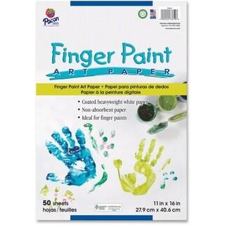 Pacon Fingerpaint Paper - 1/PK