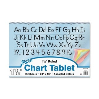 Pacon Colored Paper Chart Tablets - 1/EA