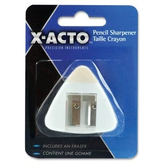 Elmer's X-Acto Pencil Sharpener with Eraser - 1/EA|https://ak1.ostkcdn.com/images/products/10339359/P17448833.jpg?impolicy=medium
