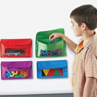 Learning Resources Magnetic Storage Pockets - 4 Pockets