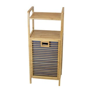 Tivoli TBH-002 Bamboo Hamper with Shelves
