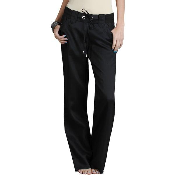 fda14239abc4c Shop Nikibiki Women's Long Linen Pants - Free Shipping Today ...
