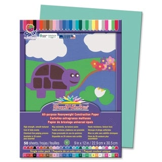 Pacon SunWorks Groundwood Construction Paper - 50/PK