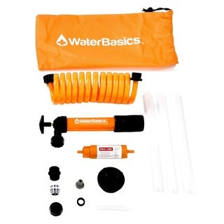 WaterBasics  Emergency Pump and Filter Kit RED-II-120