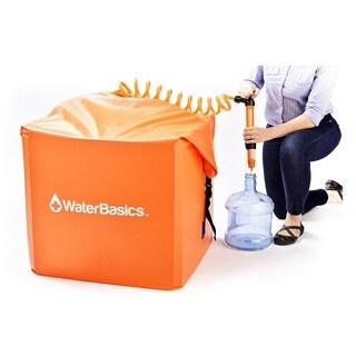 WaterBasics Emergency Water Storage Kit with Filter 60gal
