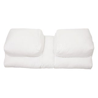 Better Sleep Luxury White Goose Feather and Goose Down Pillow