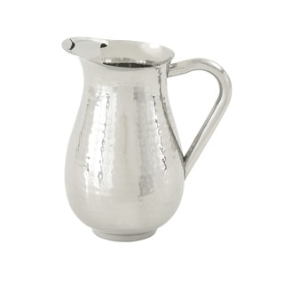 Decorative Polished Steel Pitcher