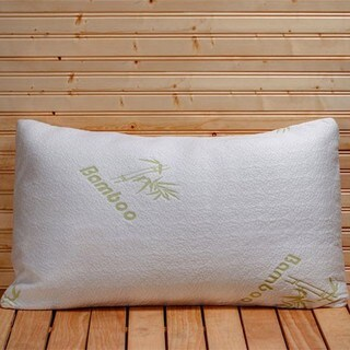 Ultimate Rayon from Bamboo Memory Foam Pillow - WHITE