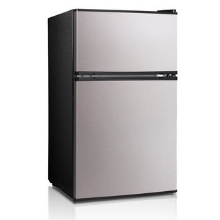 Midea 3.1 Cu. Ft. Double Door Compact Refrigerator/Freezer