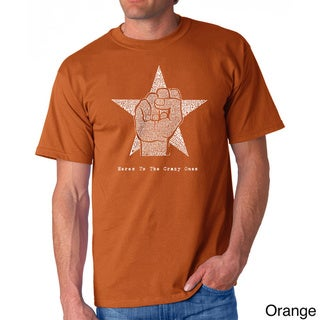Los Angeles Pop Art Men's Steve Jobs Cotton T-shirt