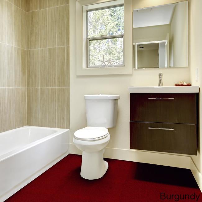 Wall To Plush Bathroom Carpet 5x6