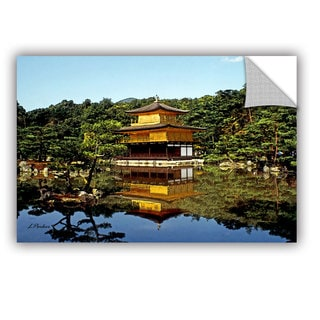 ArtAppealz Linda Parker 'Kyoto'S Golden Pavilion' Removable Wall Art