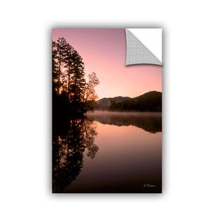 ArtAppealz Linda Parker 'Mirror Lake, Lake Placid' Removable Wall Art
