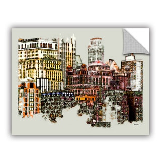 ArtAppealz Linda Parker 'Nyc Manhattan Cluster' Removable Wall Art