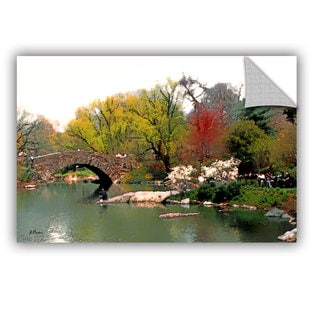 ArtAppealz Linda Parker 'Saturday Central Park' Removable Wall Art