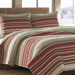 Link to Eddie Bauer Yakima Valley Red 3-piece Quilt Set Similar Items in Quilts & Coverlets