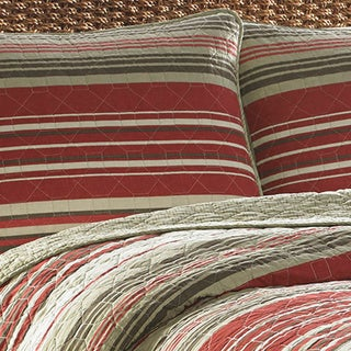Eddie Bauer Yakima Valley 5 Piece Reversible Quilt Set