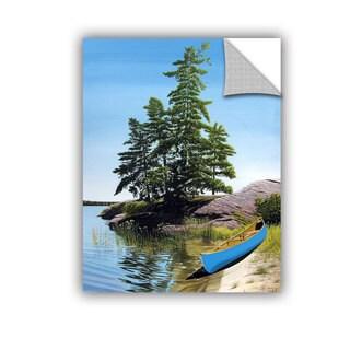 ArtAppealz Ken Kirsch 'Canoe On Georgian Bay 1' Removable Wall Art