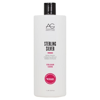 AG Hair Sterling Silver 33.8-ounce Shampoo