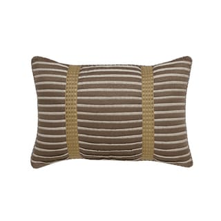 Croscill Madeline Ivory/ Taupe Boudoir 18 x 12 Pillow