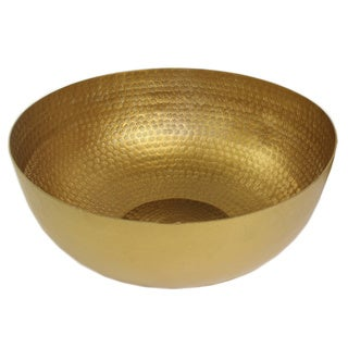 Pampa Bay 15-inch Brass Bowl
