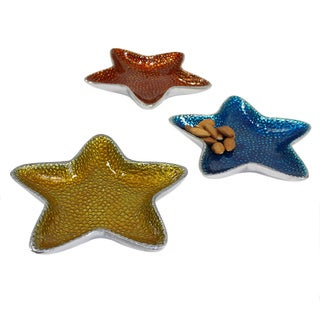 Pampa Bay Coastal Starfish Dish (Set of 3)