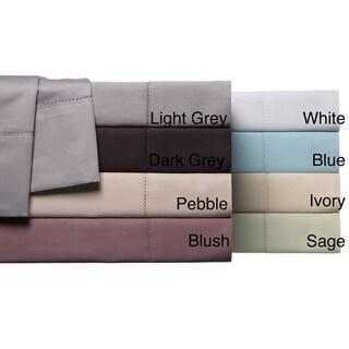 Hemstitch 100-percent Egyptian Cotton 800 Thread Count Sheet Set