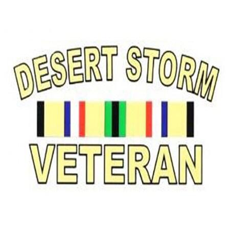Desert Storm Veteran Car Decal