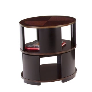 Contrasts Swivel Chairside Table