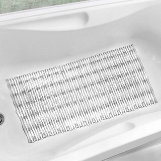 Eco-Friendly PVC Chlorine Free Bamboo Rods Bath Mat available in 6 Colors