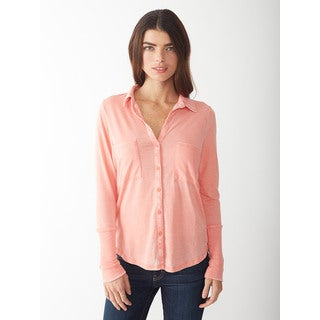 Alternative Women's Persimmon Everyday Button-Up