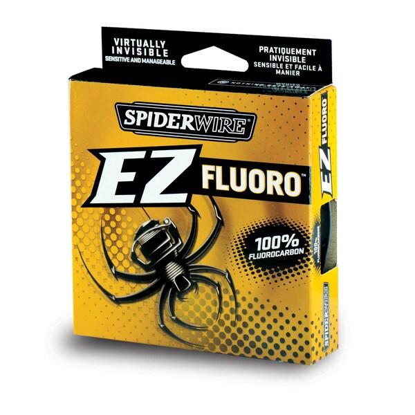 Spiderwire EZ Fluoro Line Clear 6-pound 200 Yard