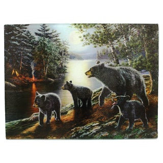Rivers Edge Products Cutting Board Cute Bear