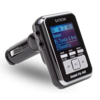 Satechi Soundfly AUX Car FM Transmitter for SD Card/ USB Stick/ Aux-in