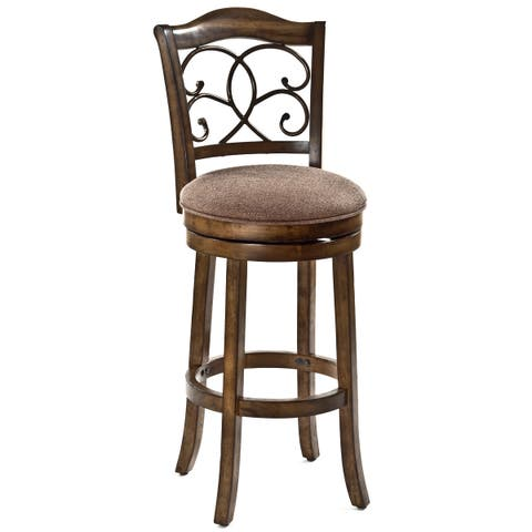 Hillsdale Furniture's McLane Swivel Counter Stool